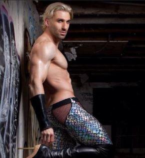 The mysterious and alluring gender-bending Sir JET aka Joel Evan Tye